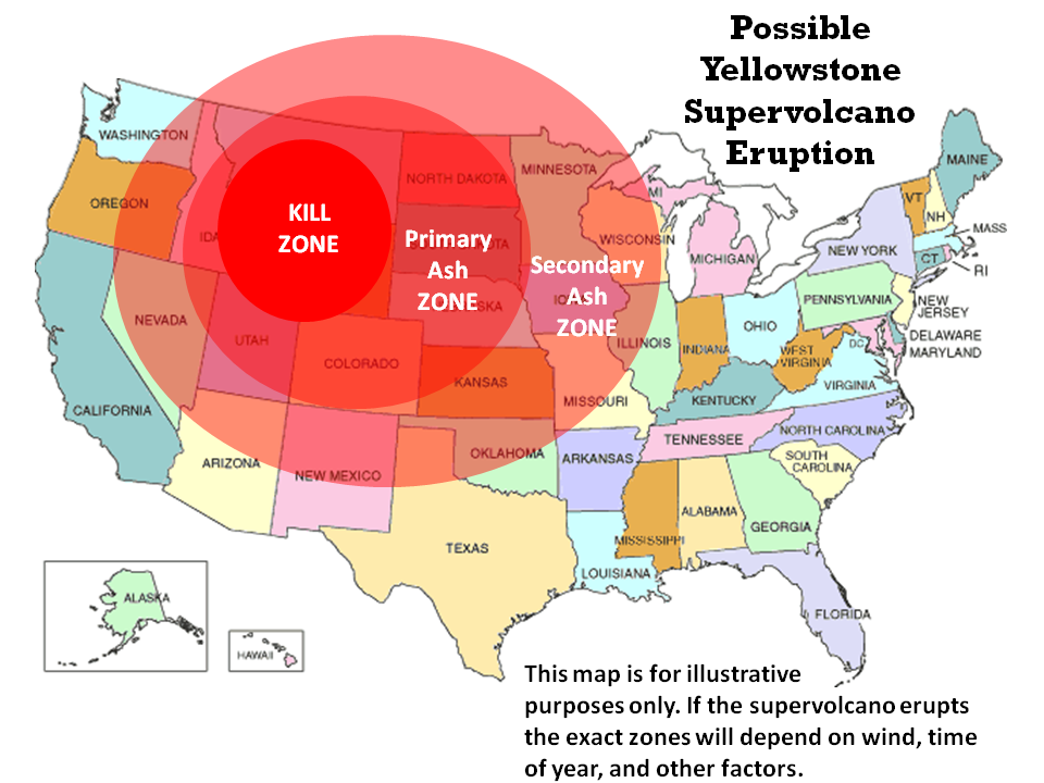 Yellowstone: supervolcano eruption would last for 'many months ...