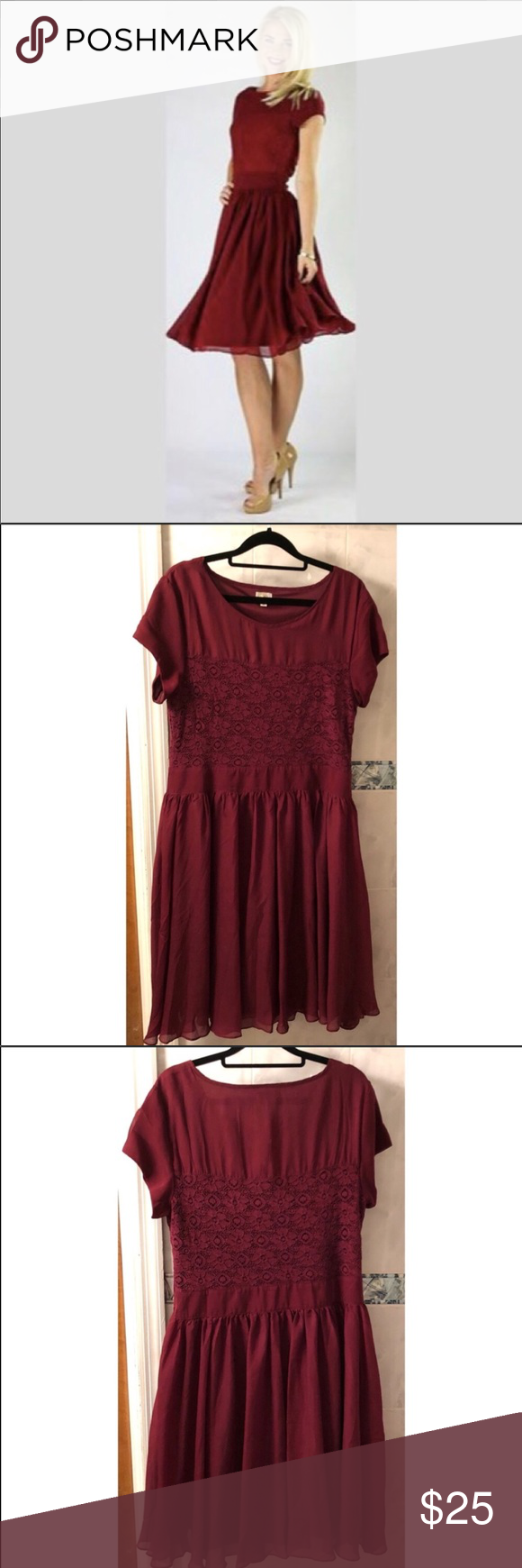 Wedding attendee dresses  Red formal dress perfect for wedding attendee in   My Posh