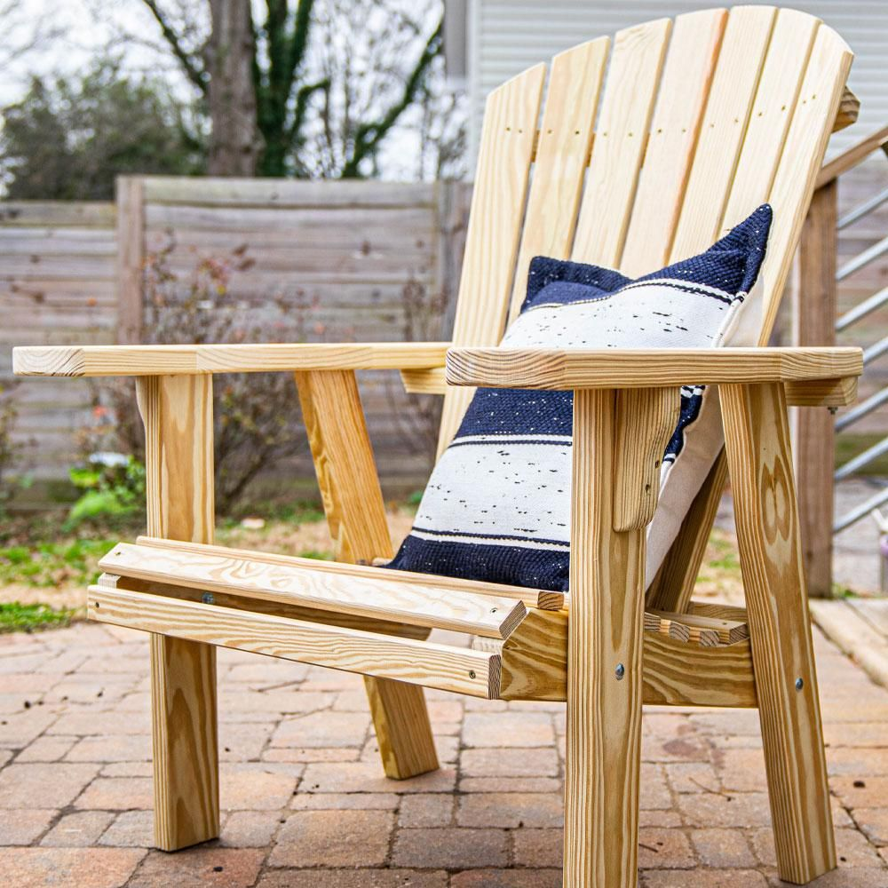 Photo of Capers Solid Pine Adirondack Chair
