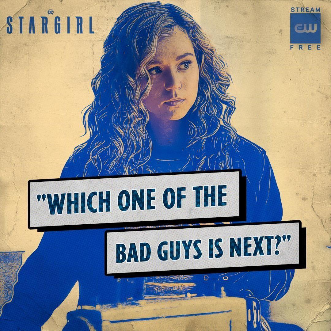 Pin on CW!: STARGIRL!