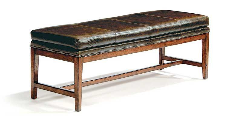 Vintage Patina Bench 322 508 By Bernhardt Hospitality