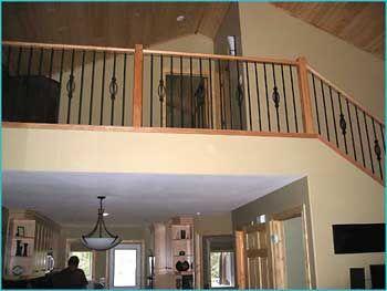 Lot 419 Castle Mountain Resort Home Floor Ceiling Attic Loft