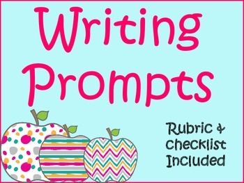 Writing Prompts Bundle30 Writing Prompts: Speculative, Narrative, ExpositoryChecklist, Rubric, Graphic OrganizersGreat Test Prep