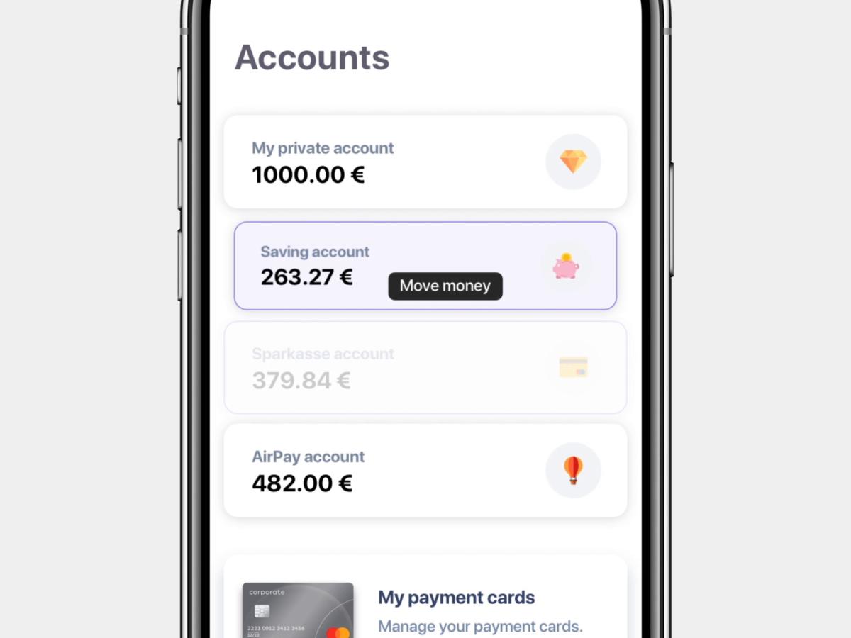 Banking App Move Money Banking App Banking App