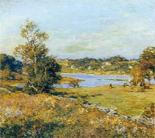 The Breath of Autumn (Waterford, Connecticut) - Willard Metcalf