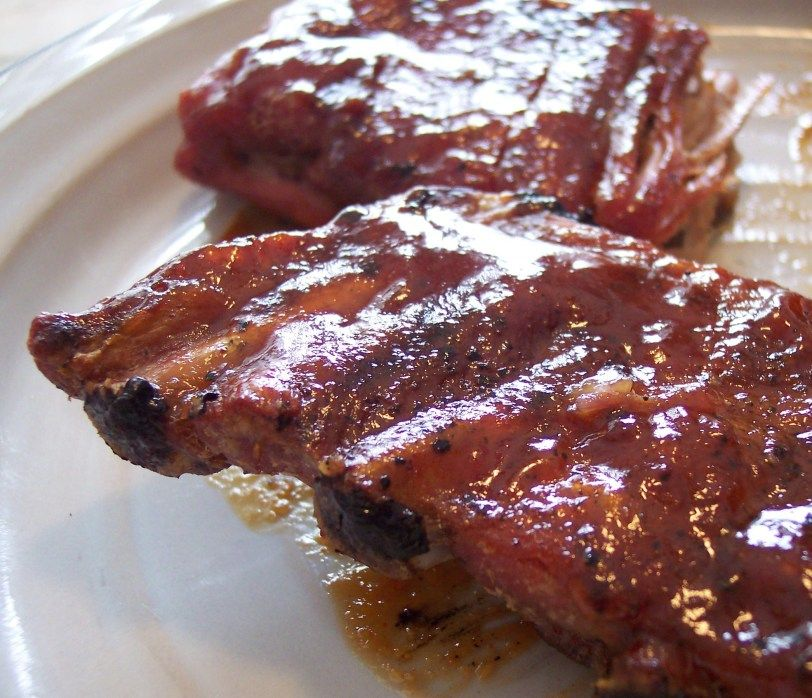 Alternate Honey Barbecue Sauce With Riblets (Applebee's