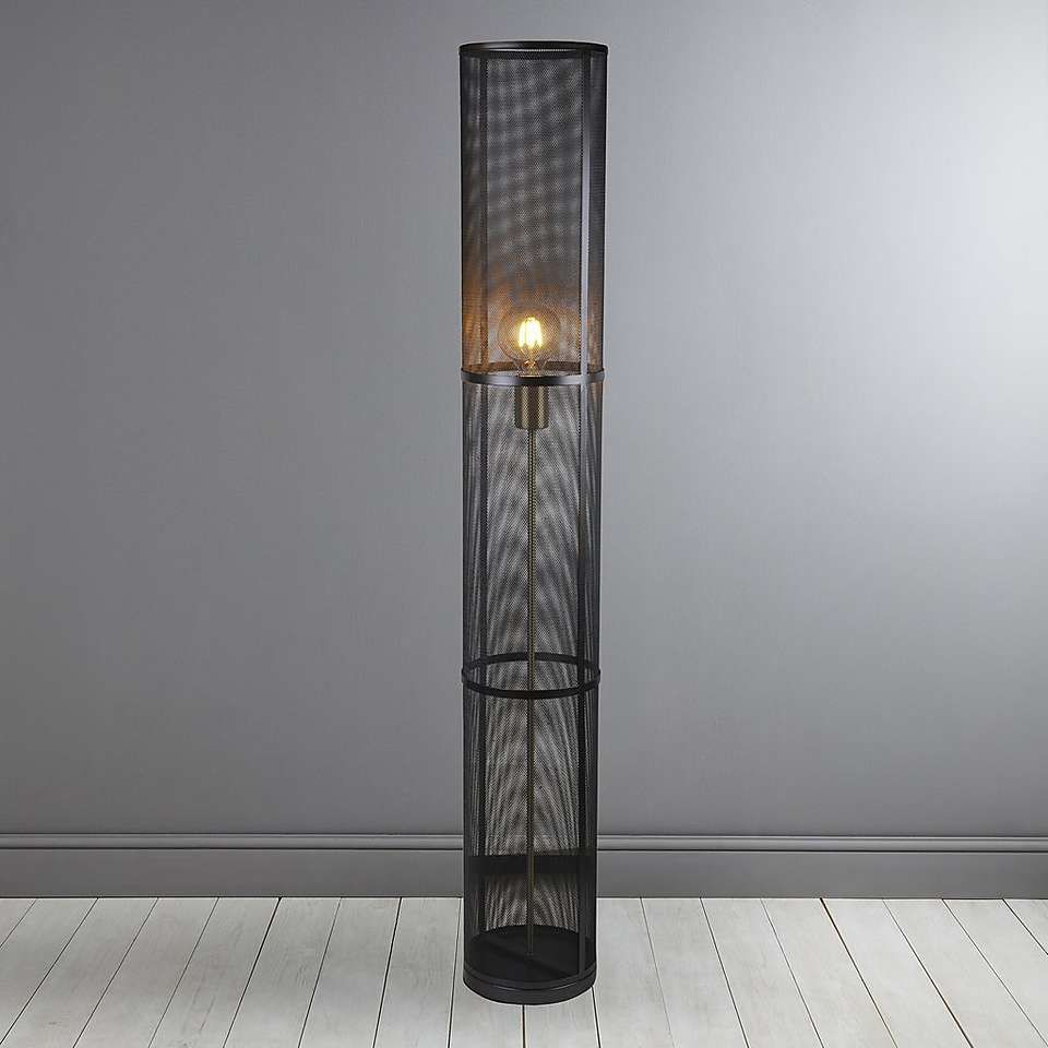 Kalix Black Mesh Floor Lamp Dunelm Floor Lamp Apartment Lamps Lamp