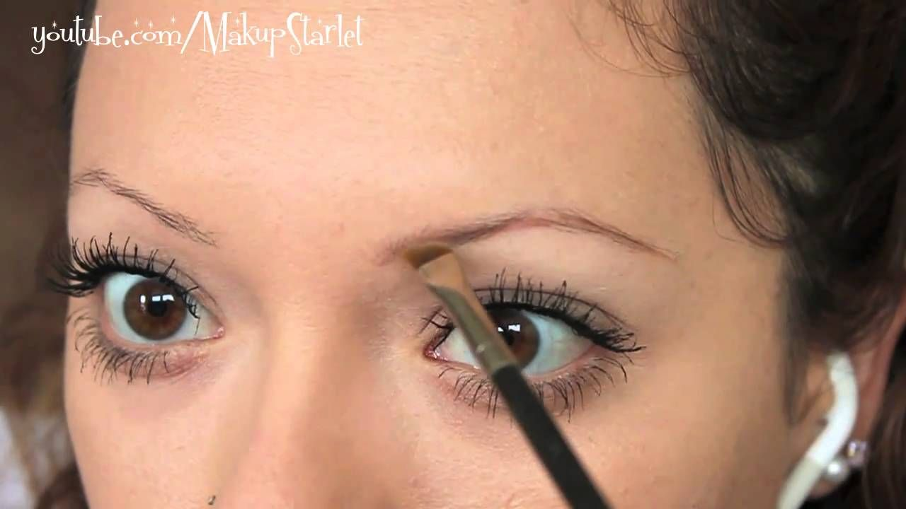 Tutorial How I Fill In My Sparse Eyebrows Sparse Eyebrows