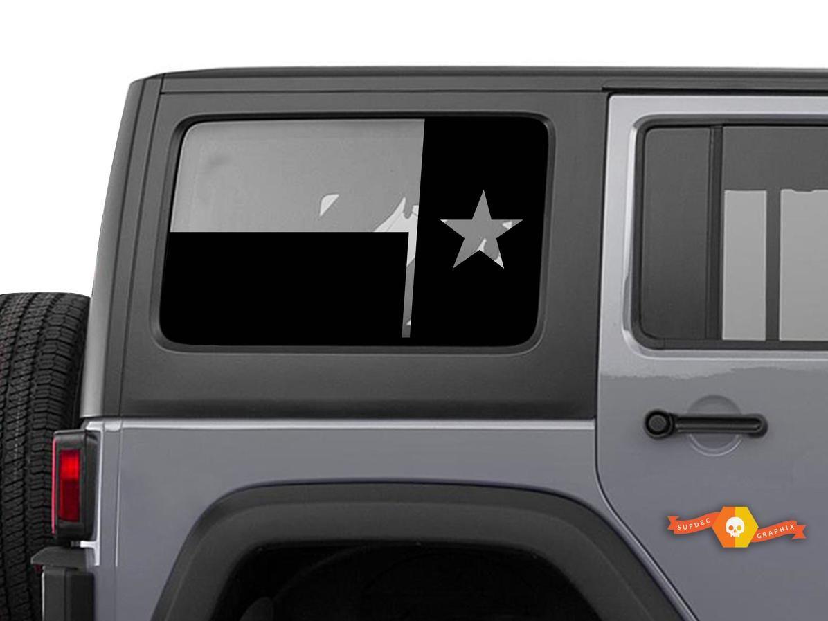 Product State Of Texas Flag Windshield Decal Fits Jku Jeep Wrangler 4 Door Wrangler Window Stickers 4 Door Jeep Wrangler 4 Door Wrangler Jeep Stickers