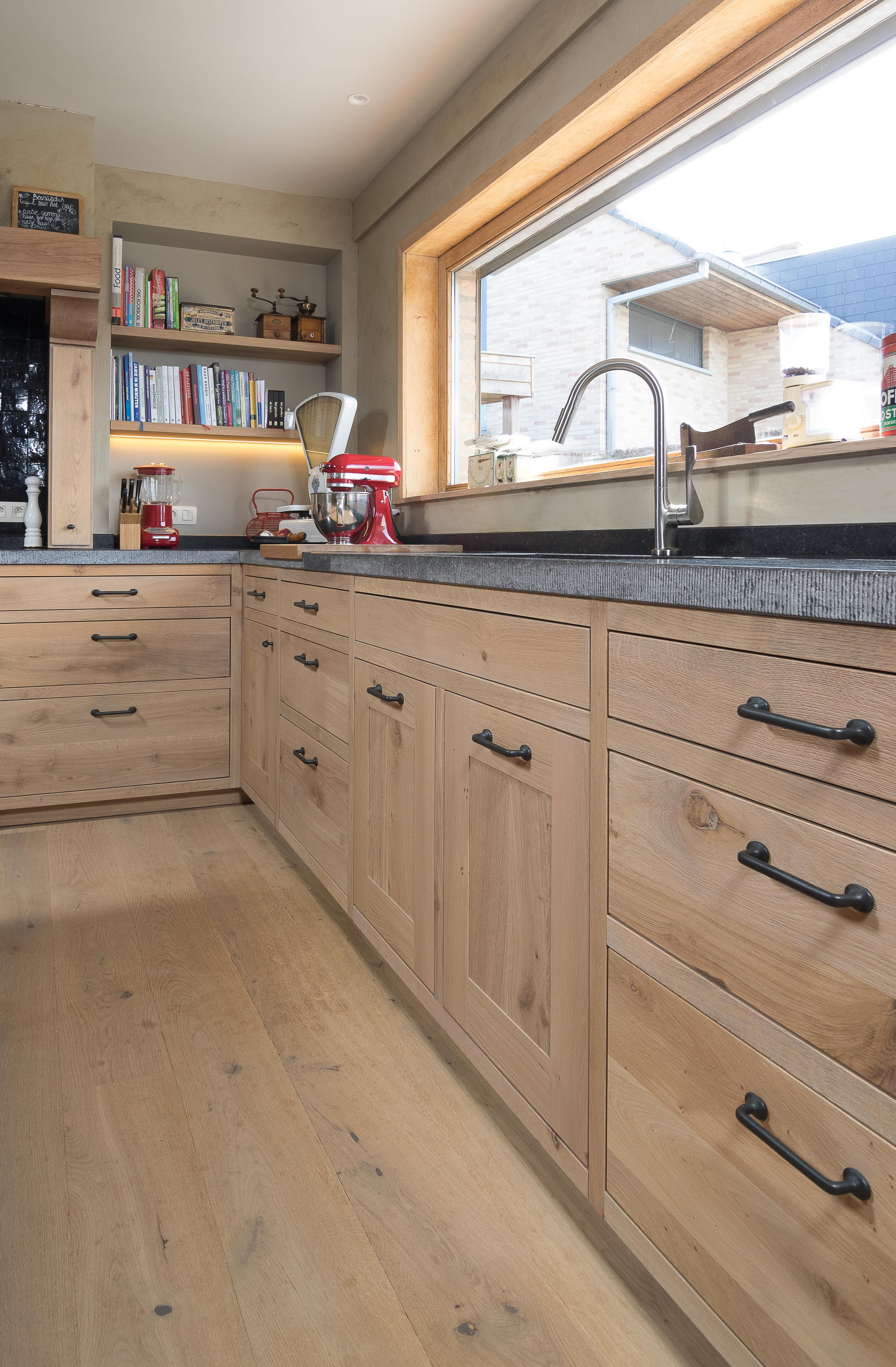 Goede Eiken keukens - massieve houten keukens (met afbeeldingen OX-49