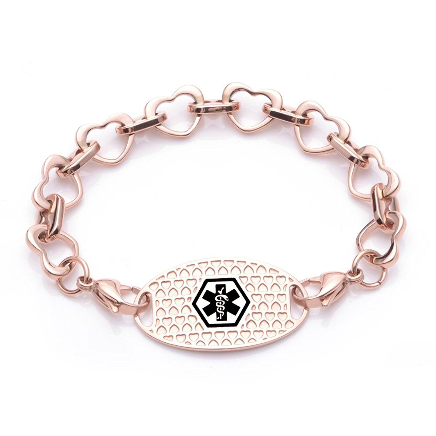 interchangeable gold product bracelet qudo rose fabeles basic