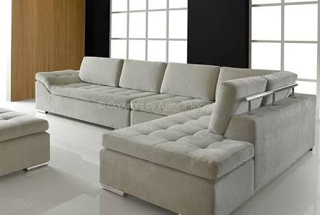 Resultado de imagem para sofá em l   Sofás bonitos, Sofá ...