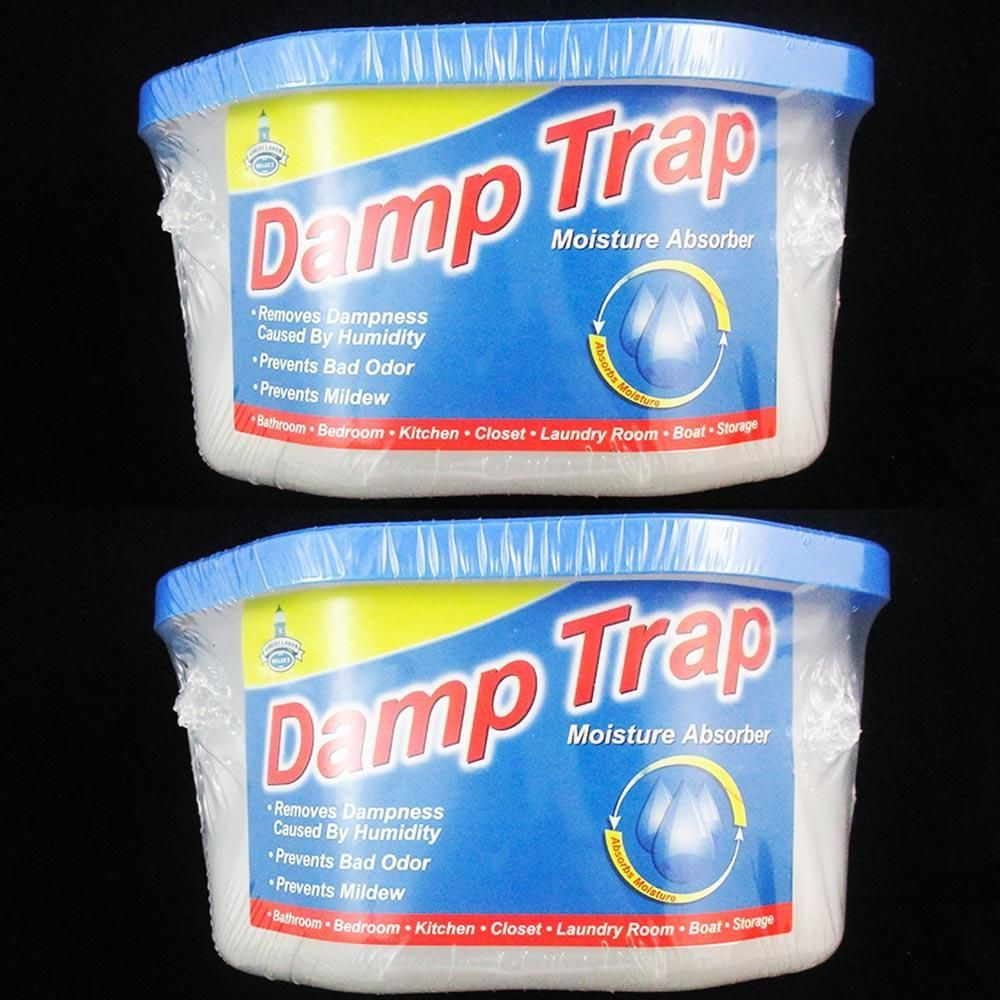 2 Damp Trap Excess Moisture Absorber Closet Fresh Air