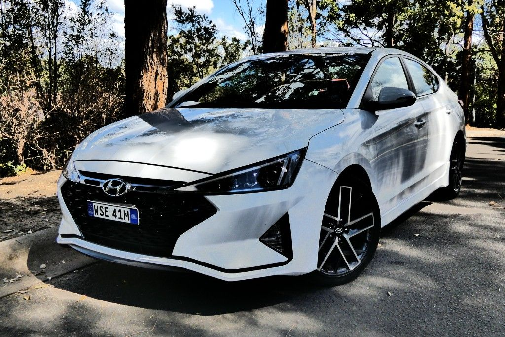 Hyundai Elantra the Sport report , , https//www