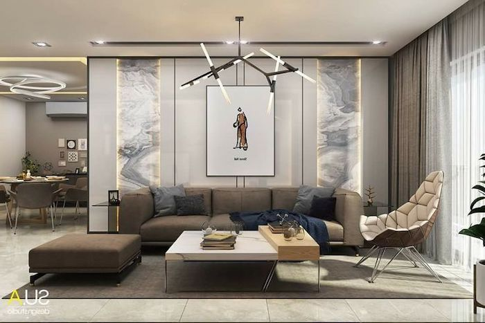 ▷ 1001 + breathtaking accent wall ideas for living room images
