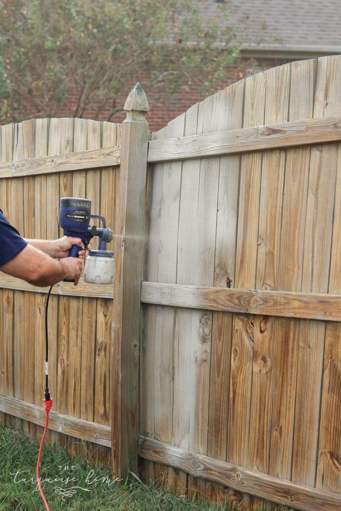 how to paint a wood fence the fast and easy way in 2020 on inexpensive way to build a wood privacy fence diy guide for 2020 id=45423