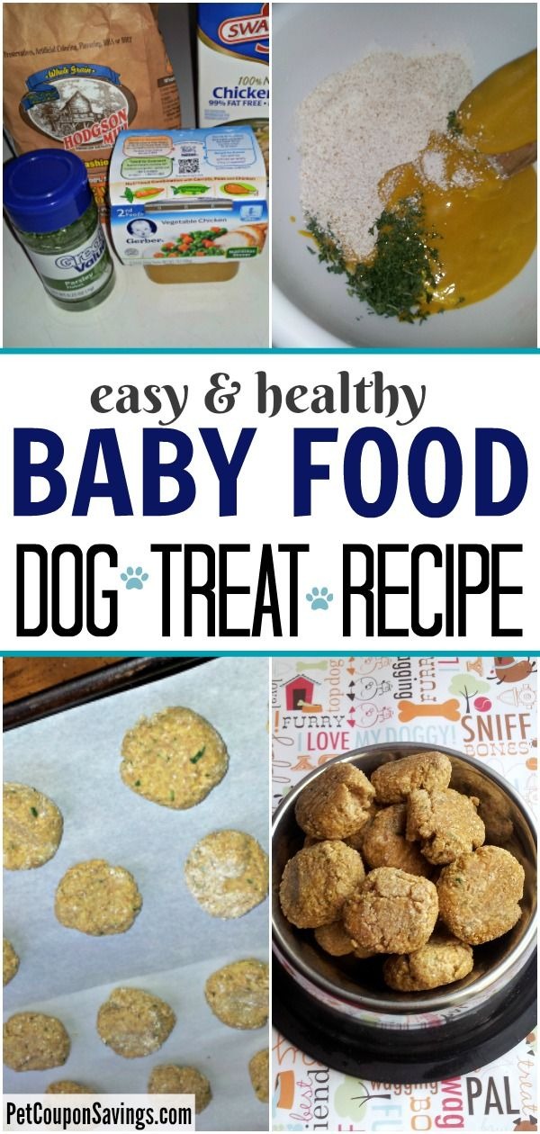 These Baby Food Dog Treats Can Be Made Soft Or Crunchy You Can