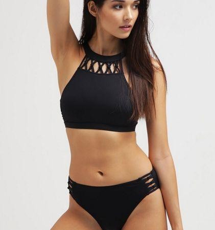 13c026b5c24818 Esprit JUNO Góra od bikini trapezowa black   Kostiumy kąpielowe ...