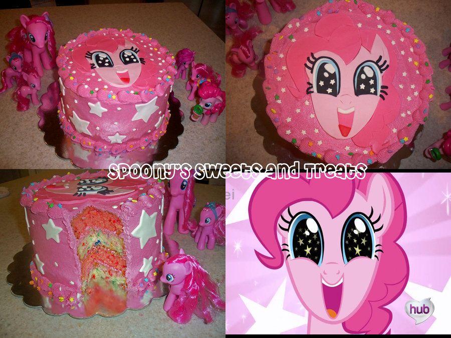 Birthday Cake Images With Name Pinky : Pinkie Pie Cake on Pinterest Pinkie Pie Party, Rainbow ...