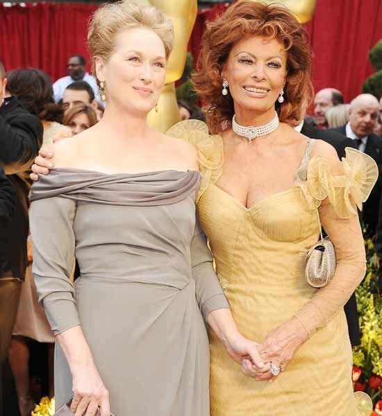 Anne Hathaway Kibbe: Meryl Streep (SC), Sophia Loren (SD)