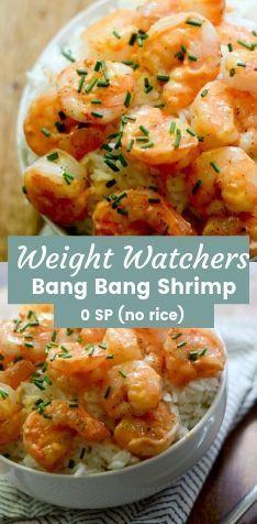 Weight Watchers Bang Bang Shrimp