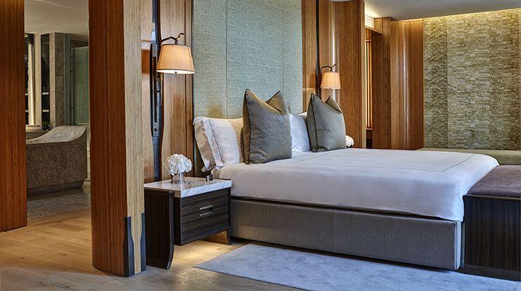 Opus suite in berkeley hotel london guest room suite - London hotel suites with 2 bedrooms ...
