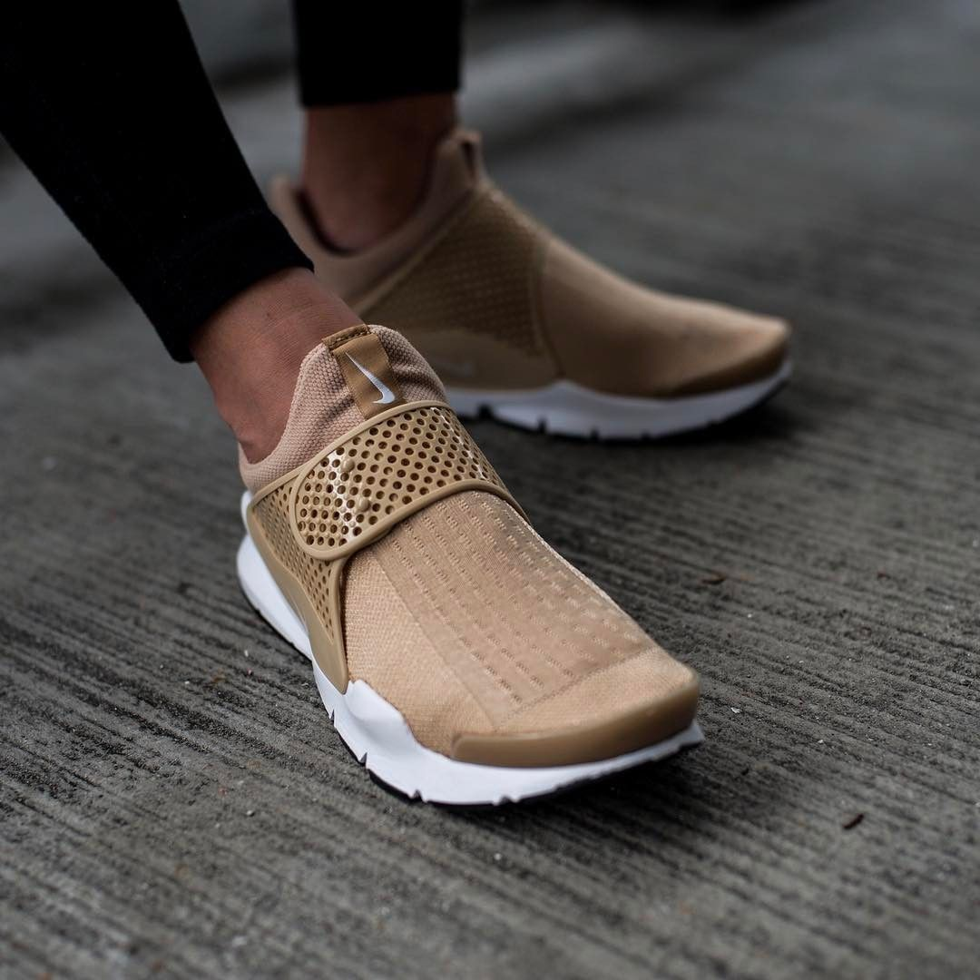 detailed look 8ff30 110c8 Nike Sock Dart: Beige | Shoes in 2019 | Beige sneakers ...