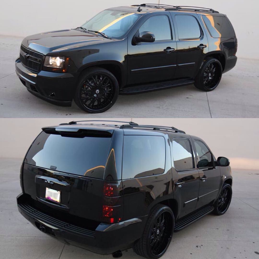 Blacked out suburban My next ride