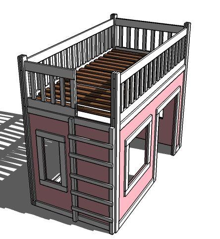 Build playhouse kit simple diy playhouse with build for Cheap playhouse kits