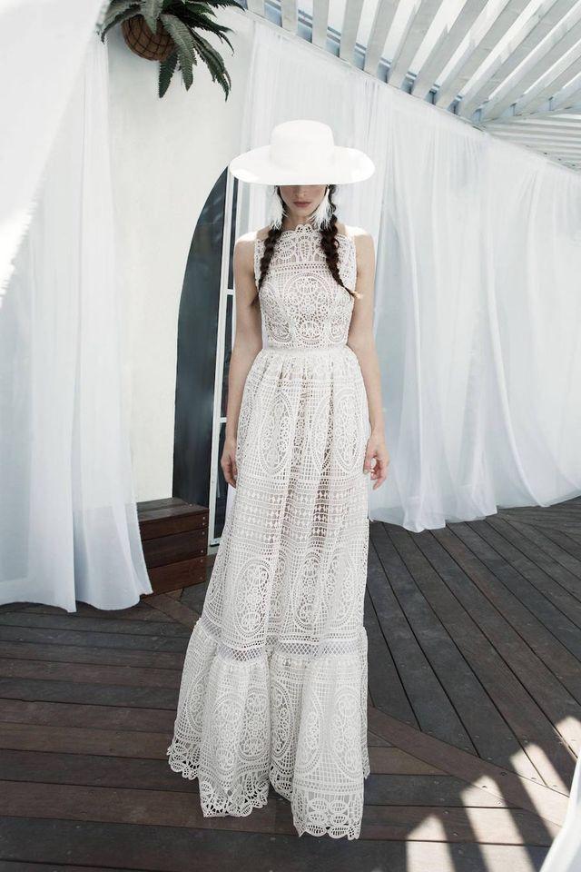 Vestidos blancos romanticos