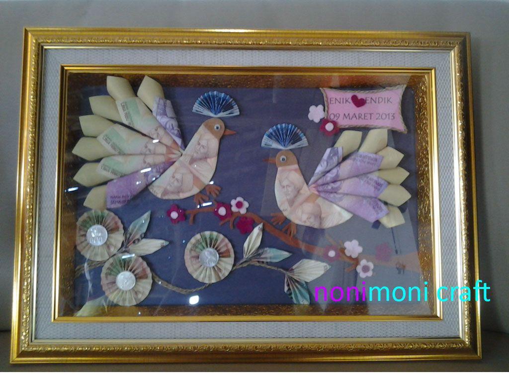Mahar Tema Merpati Nonimoni Craft Pinterest Craft
