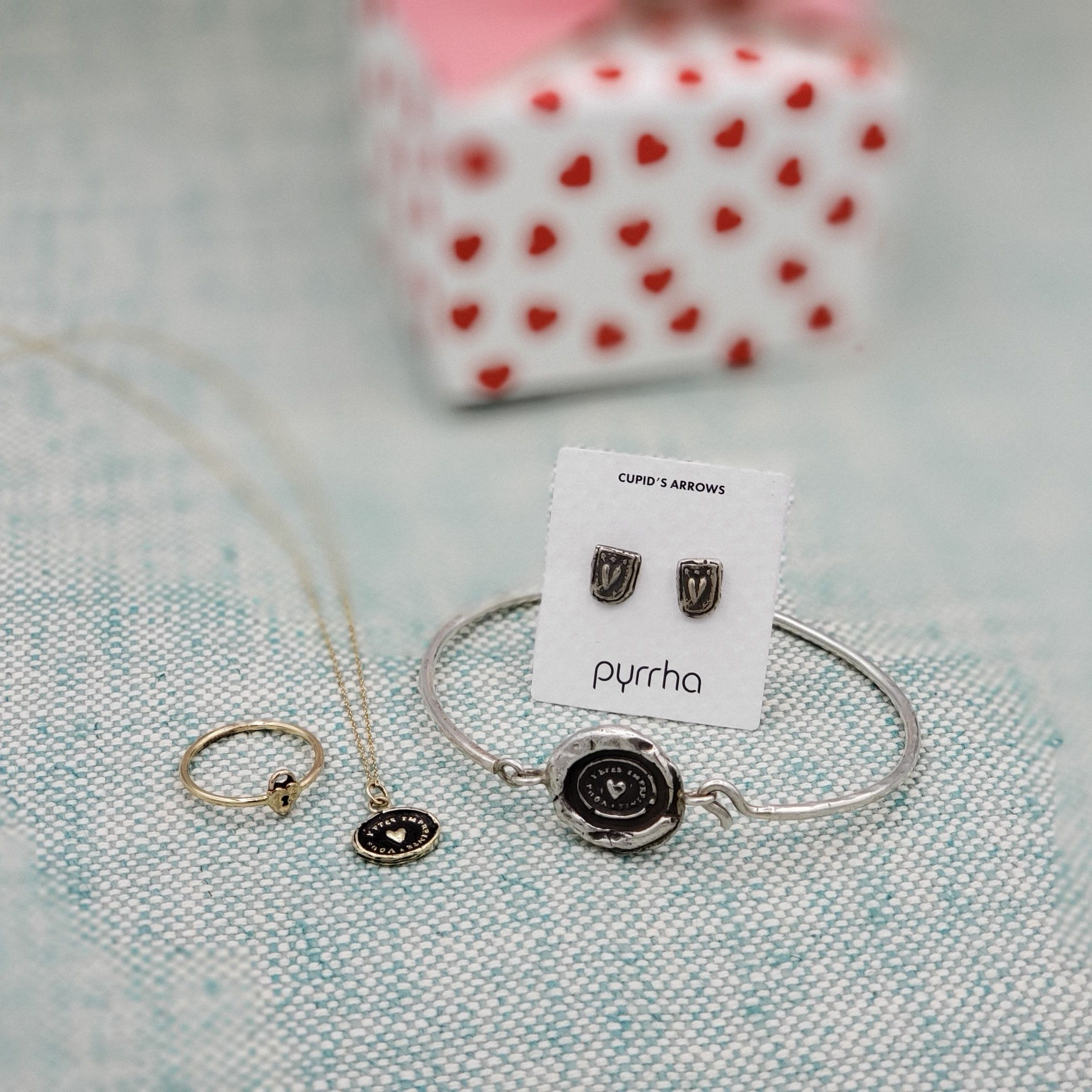 97a36052c Love is in the air at Dana's with Pyrrha. Choose the meaning that best  symbolizes your LOVE. #ValentinesDay #meaningful #gift #love #necklace  #symbol ...