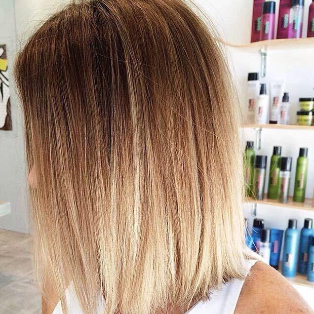 47 Hot Long Bob Haircuts and Hair Color Ideas | Ombre, Hair ...