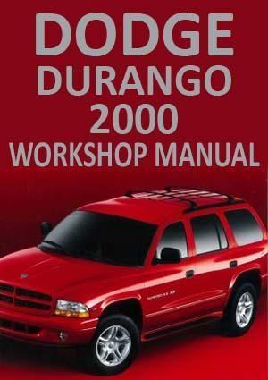 dodge durango 2000 workshop manual dodge durango car manuals and cars rh pinterest com Diagram of 1999 Dodge Durango for Heater 2000 Dodge Durango SLT Manual
