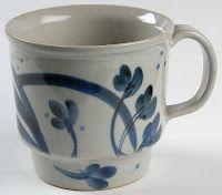 Iron Mountain Stoneware: Martha's Flowers