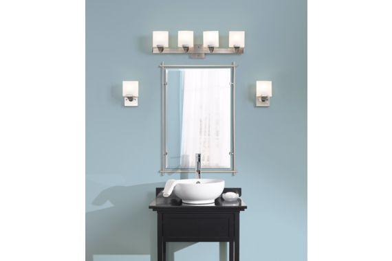 Eileen Brushed Nickel Kichler Wall Mirror 26 1 2x39