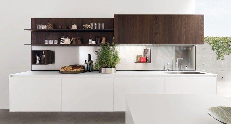 Mueble modular de pared para cocinas y salas de estar HORIZON by