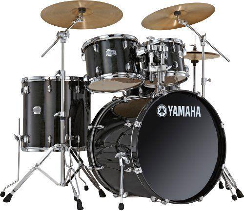 Yamaha Stage Custombirch Scb0f57rb 5 Piece Drum Set Raven Black By Yamaha 992 26 Raven Black Sc Birch 5 Piece Dr Yamaha Drums Drum Kits Yamaha Stage Custom