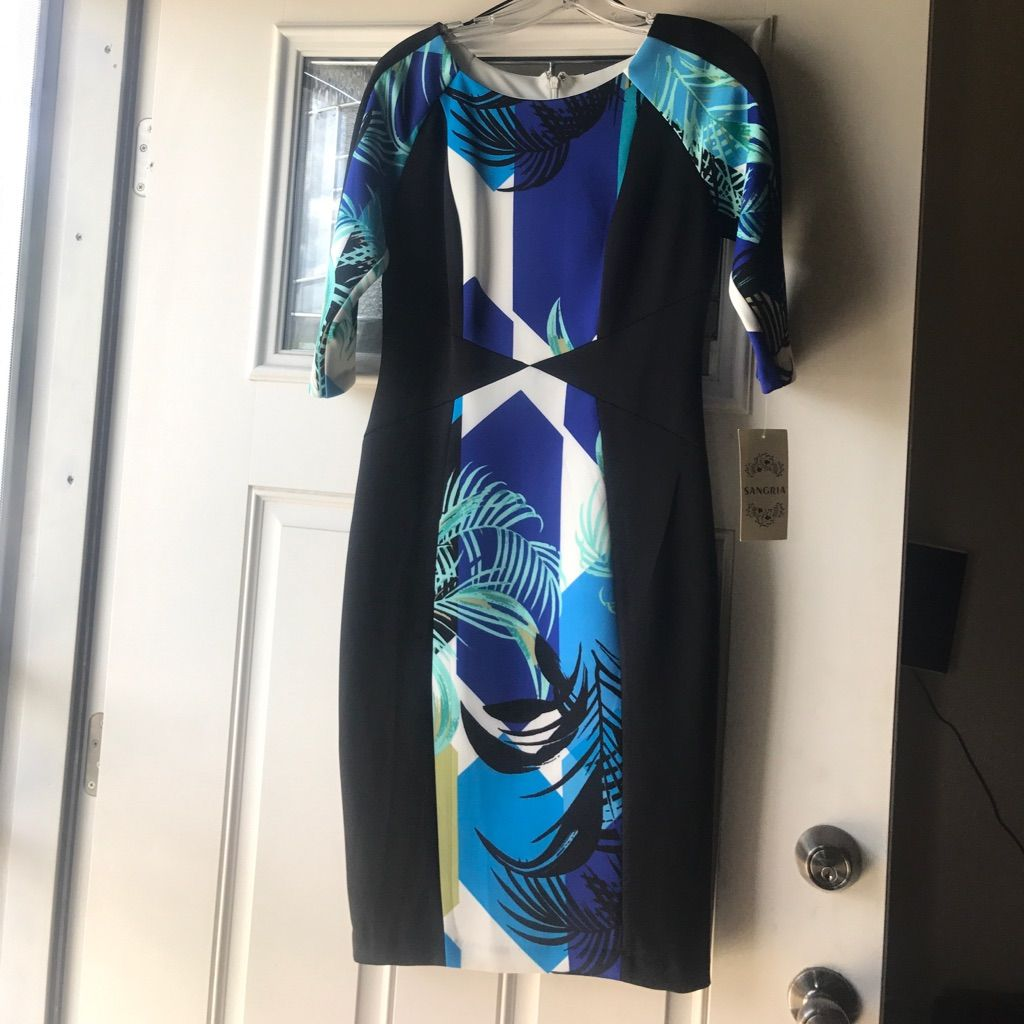 Brand New Scuba Dress With Tags