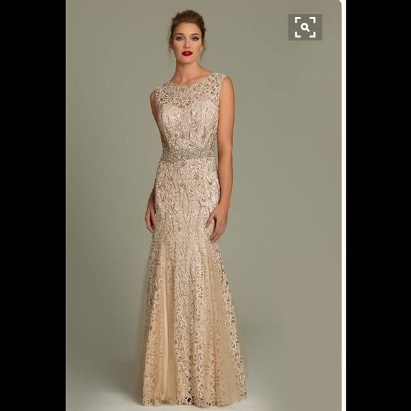 Champagne colored dresses formal
