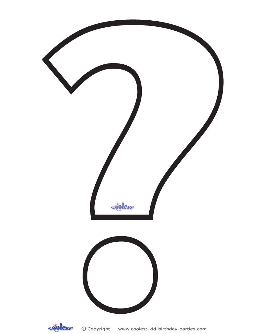 Printable Question Mark 3 Decoration This Or That Questions