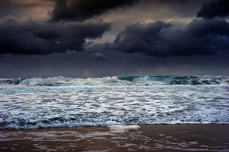 море мрачное фото запрещена