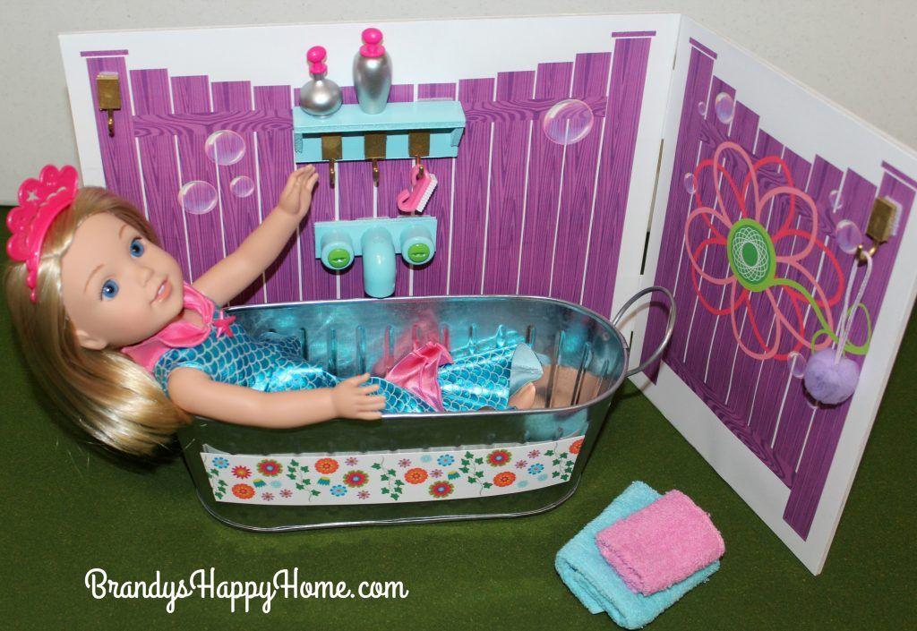 Diy wellie wishers tub and potty american girl wellie