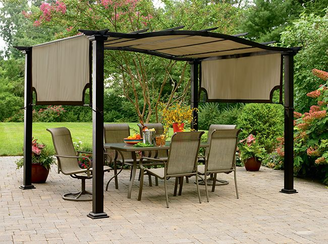 Small backyard pergola ideas patio shade ideas for your for Small patio shade ideas