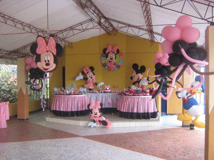 Minnie mouse cumplea os centros de mesa buscar con - Centros de mesa para cumpleanos ...
