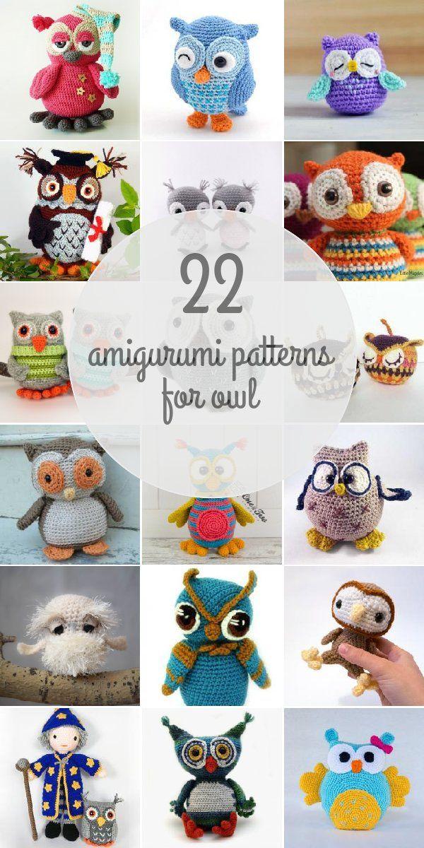 Amigurumi Patterns For Owl   КРЮЧОК ИГРУШКИ   Pinterest   Libros y Bebe