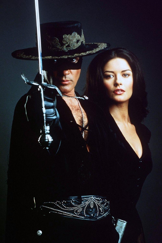33a28736c47a Zorro & Elena (The Mask of Zorro) | Hollywood beauties | Catherine ...