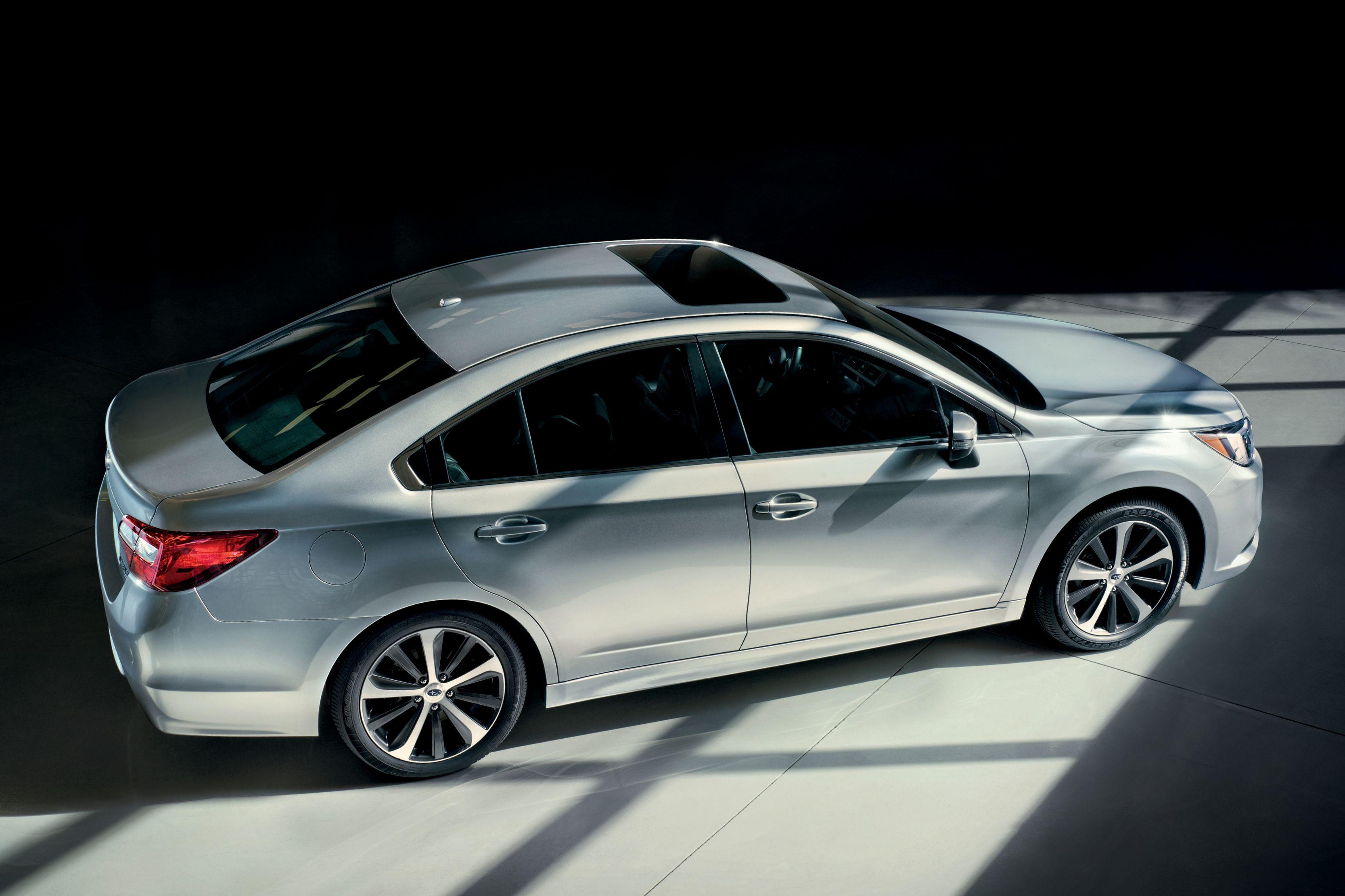 The allnew 2015 Subaru Legacy has new enhanced safety