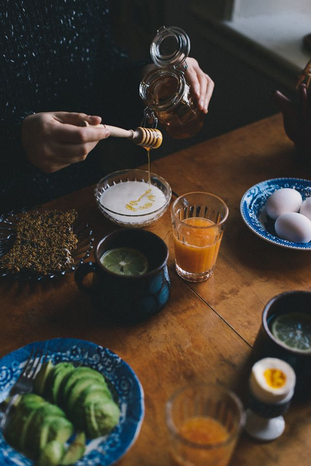 Morning Rituals on Food Bandits: Babes in Boyland