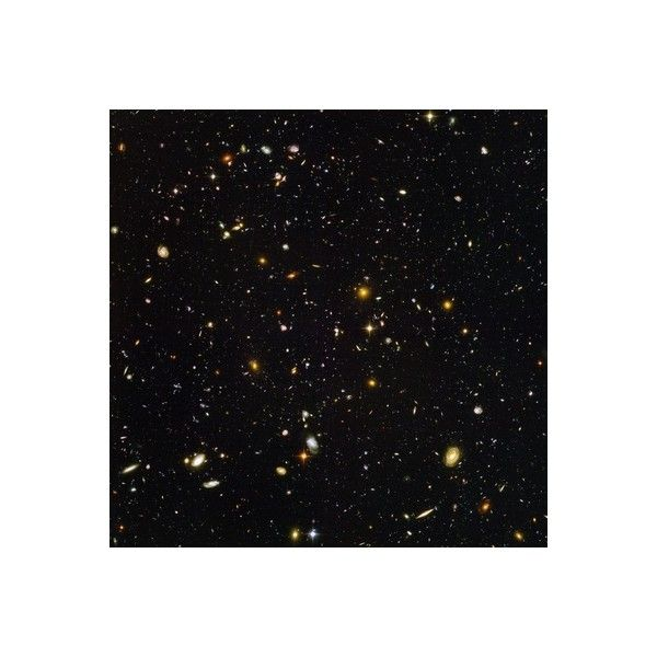 Hubble Ultra Deep Field Galaxies Photographic Wall Art Print (€44) ❤ liked on Polyvore featuring home, home decor, wall art, backgrounds, solar system wall art, mounted wall art, outer space posters and wall-cover
